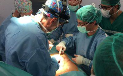 Primera cirugía realizada en Andalucía de Pectus Excavatum.